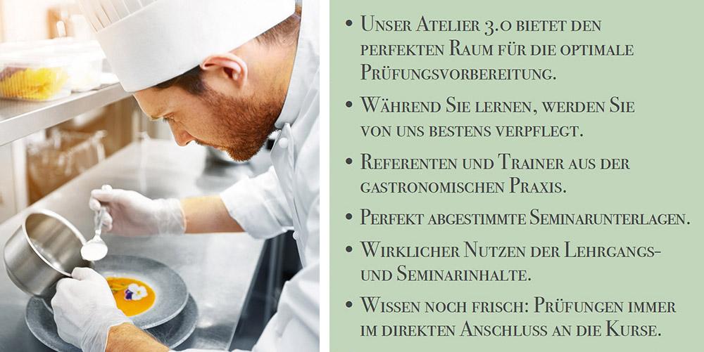 Seminarinhalte Kochschule