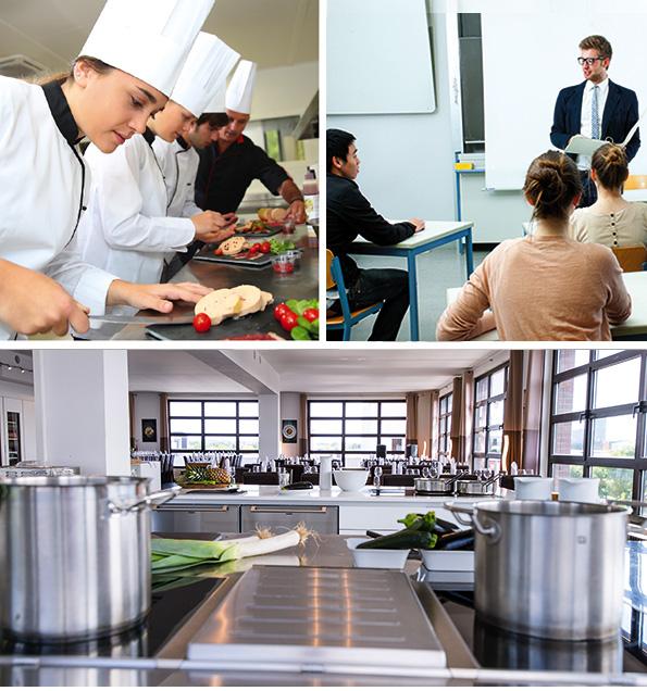 Genussakademie Professional, Kochschule, Ausbildung Koch